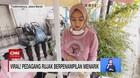 VIDEO: Sosok Viral Perempuan Cantik Penjual Rujak