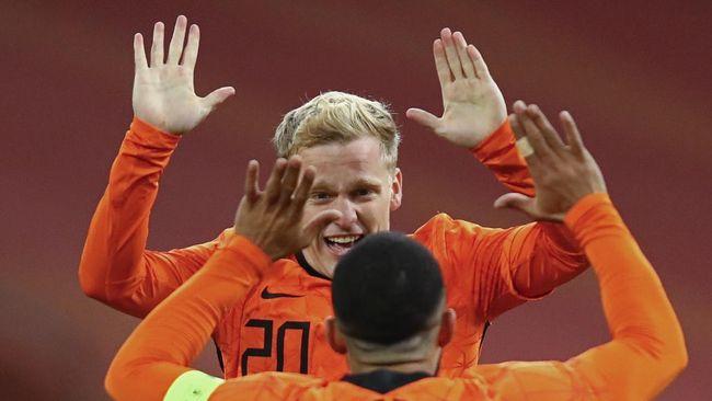 Timnas Belanda telah mengumumkan 26 pemain untuk putaran final Piala Eropa Euro 2020.