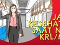 Jaga Kesehatan Saat Naik KRL/MRT