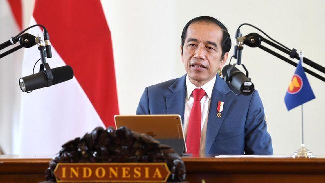 Menurut Jokowi, jaga stabilitas dan keamanan di ASEAN tanpa situasi yang damai akan susah membangkitkan ekonomi. Ini sulit karena ada rivalitas negara besar.