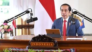 Jokowi Singgung UU Ciptaker Mudahkan Startup