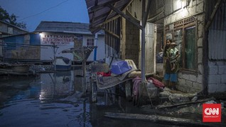 Peta Prediksi Ungkap Wilayah Jakarta yang Bakal Tenggelam