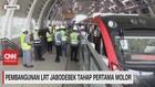 VIDEO: Pembangunan LRT Jobodebek Tahap Pertama Molor