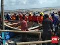Surabaya Timur Banjir Rob, Puluhan Perahu Nelayan Rusak