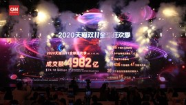 VIDEO: Alibaba Raup Rp1.056 Triliun dari Harbolnas 11.11