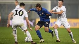 FOTO: Timnas Italia Wajah Baru Pesta Gol