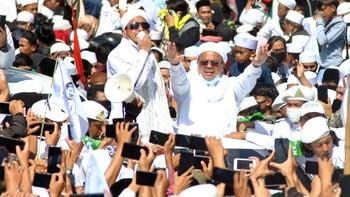 Rizieq Shihab Dikabarkan Kabur dari RS Lewat Pintu Belakang