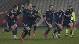 Jadwal Euro 2020: Skotlandia vs Ceko