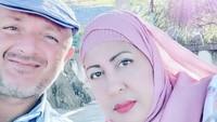 <p>2. Tak ingin larut dalam kesedihan pasca bercerai, Atha pun kembali menikah dengan seorang bule asal Portugal yang bekerja sebagai polisi. (Foto: Instagram @shechahsagran)</p>