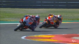 VIDEO: Duel Dovizioso vs Marquez di MotoGP