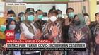VIDEO: Menko PMK: Vaksin Covid-19 Diberikan Desember