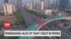 VIDEO: Pembangunan Jalur LRT Tahap I Dekati 80 Persen