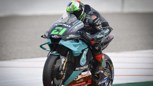Franco Morbidelli akan berusaha mengalahkan Valentino Rossi di setiap seri balapan MotoGP 2021 meski mereka satu tim di Petronas Yamaha.