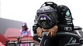 FOTO: Lewis Hamilton Juara Dunia F1 2020