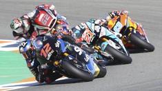 Hasil Moto2 Valencia 2020: Martin Menang Dramatis