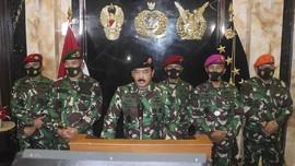 Panglima TNI Sidak Markas Pasukan Khusus, Teriak Komando