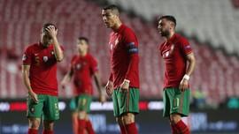 Ronaldo Perpanjang Rekor Buruk Lawan Prancis