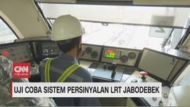 VIDEO: Uji Coba Sistem Persinyalan LRT Jabodebek