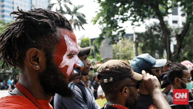 Polda: Demo Papua Dibubarkan karena Tanpa Pemberitahuan