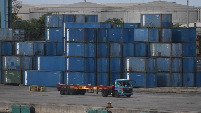 Neraca Dagang Surplus US$1,57 M pada Maret 2021