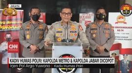 VIDEO: Kapolda Metro & Kapolda Jabar Dicopot Terkait Prokes