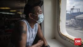 FOTO: Penerapan Protokol Kesehatan di Moda Angkutan Laut