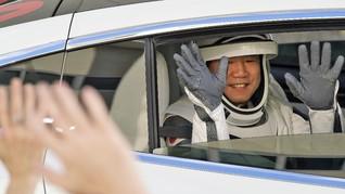 NASA Tangguhkan Kontrak Astronot SpaceX Rp42,1 Triliun