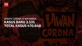 VIDEO: Bertambah 3.535, Kasus positif Corona Tembus 470 Ribu