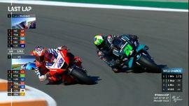 VIDEO: Duel Sengit Morbidelli vs Miller di MotoGP Valencia