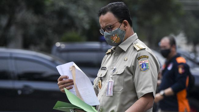 Dalam PPKM Mikro DKI Jakarta mengatur WFH 50 persen, belajar mengajar daring, tempat ibadah 50 persen, angkutan massal 50 persen, ojol diizinkan.