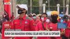 VIDEO: Buruh & Mahasiswa Kembali Gelar Aksi Tolak UU Ciptaker