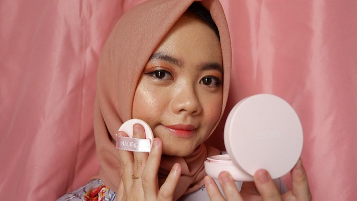 REVIEW Nacific Secret Mood Velvet Cushion, Samarkan Noda dan Pori-pori Secara Natural!