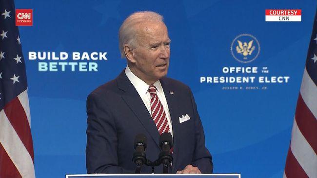 Presiden Terpilih AS Joe Biden mengenalkan tim keamanan nasional dan diplomasinya sambil menyebut,
