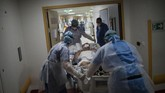 Gelombang kedua virus corona di Prancis menjadi mimpi buruk bagi tim medis. Lonjakan kasus baru Covid-19 di Prancis terus terjadi sejak September lalu.