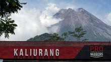Gunung Merapi Alami 46 Kali Gempa Guguran