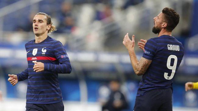Pelatih timnas Prancis Didier Deschamps mengandalkan sejumlah pemain jebolan Piala Dunia 2018 untuk meraih gelar di Piala Eropa Euro 2020 (Euro 2021).