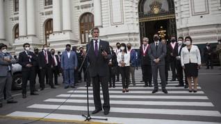 Fransisco Sagasti Resmi Dilantik jadi Presiden Baru Peru