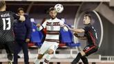 Timnas Portugal menang dramatis 3-2 atas Kroasia pada laga terakhir UEFA Nations League A Grup 3 di Stadion Poljud, Split, Selasa (17/11) waktu setempat.
