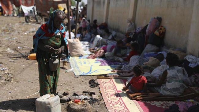 Perang saudara di Ethiopia telah berlangsung sejak lama yang melibatkan pasukan pemerintah dan pasukan di wilayah utara Tigray.