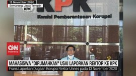 VIDEO: Mahasiswa 'Dirumahkan' Usai Laporkan Rektor ke KPK