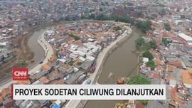 VIDEO: Proyek Sodetan Ciliwung Dilanjutkan