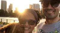 <p>Kabar terkini, Sarah Sechan menetap di Singapura bersama suami, dan anak laki-lakinya, Rajata. (Foto: Instagram @sarsehshoku)</p>