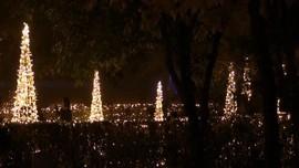 VIDEO: Yuk Lihat Keindahan Pertunjukan Cahaya di Kota Madrid