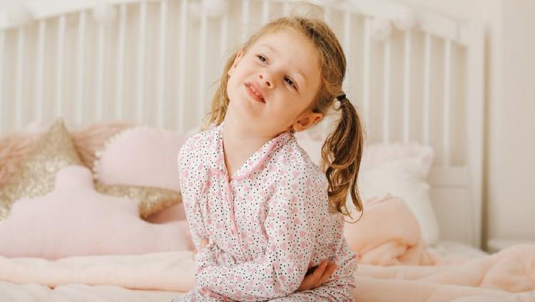 Child having stomach ache