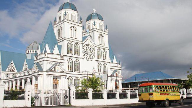 Pemerintah Samoa melaporkan kasus pertama infeksi virus corona (Covid-19) di negara itu.