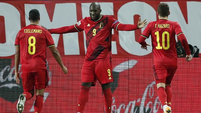 Denmark akan melawan Belgia dalam pertandingan Grup B Euro 2020 (Euro 2021). Berikut prediksi Denmark vs Belgia.