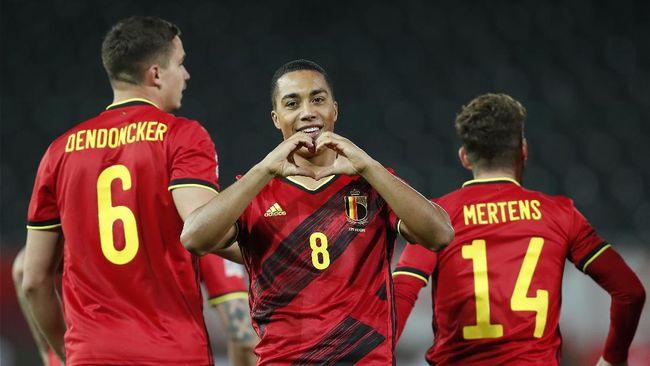 Timnas Belgia menyandang beban sebagai tim favorit juara saat bersua Rusia di Piala Eropa Euro 2020 (Euro 2021).