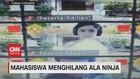 VIDEO: Kocak, Mahasiswa Menghilang Ala Ninja
