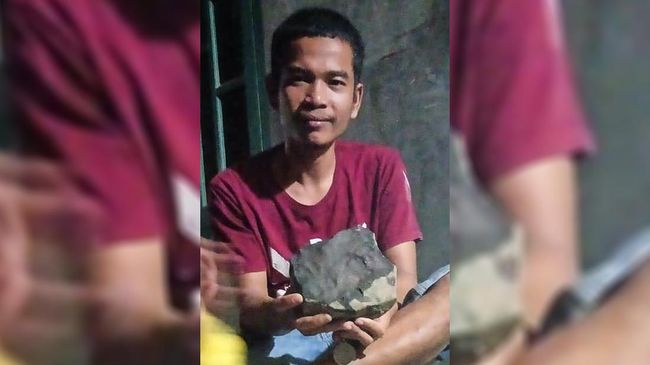 Seorang warga Tapanuli mengaku mendapatkan Rp200 juta dari penjualan meteorit yang jatuh di atas rumahnya.