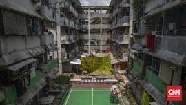 FOTO: Rusun Bidaracina Bertahan di Tengah Pandemi